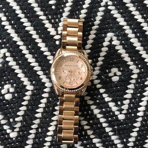 Michael Michael Kors Rosegold Ladies Watch